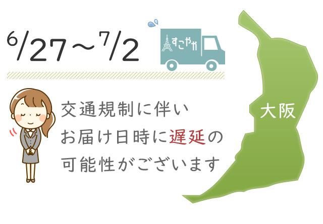「G20サミット」に伴う交通規制の影響による商品配送への影響について